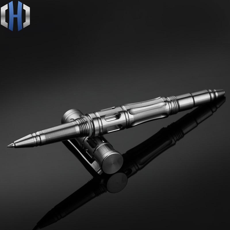 Titanium tactical pen High-end business pen self-defense pen escape help pen