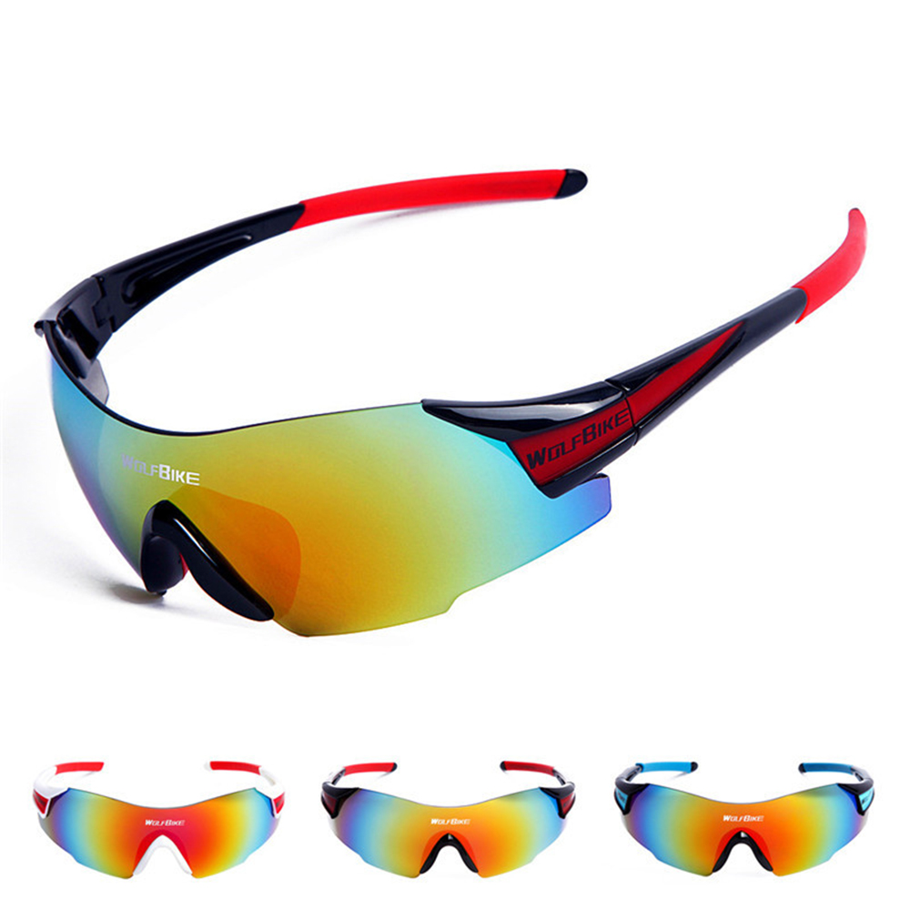 8d1b2826056 WOLFBIKE Polarized Cycling Glasses Eyewear Bike Goggles Fishing Sunglasses  UV400