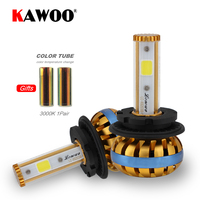 KAWOO Car Led Head Light D1 D3 COB LED Headlight Diy 6500K To 3000K Car LED