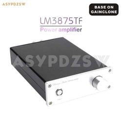 Gotowy wzmacniacz mocy LM3875TF na bazie GAINCLONE z ochroną głośników