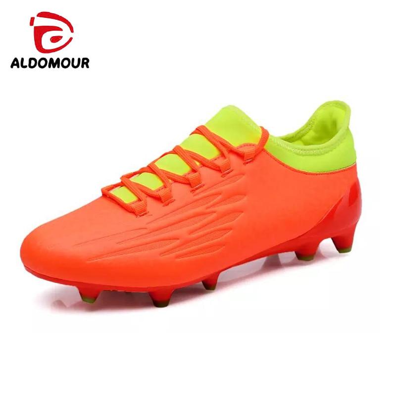 ALDOMOUR Μπότες ποδοσφαίρου ποδοσφαίρου - Πάνινα παπούτσια - Φωτογραφία 1