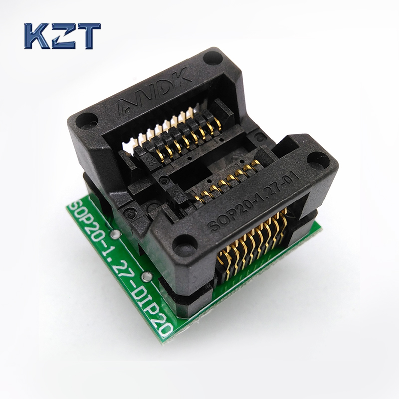 SOP16 SOIC16 SO16 To DIP16 Programming Socket Pitch 1.27mm IC Body Width 5.4mm 209mil Test Socket Adapter Programmer