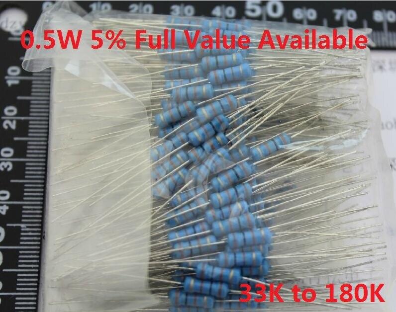 //-1/% 0.5W 200PCS 18K ohm 1//2W Metal Film Resistor