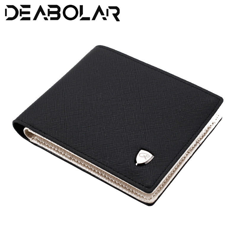 Fashion Men High Quality Wallet High quality pu Multifunction Large Capacity Mini Wallet Thin section Short section Coin pocket high quality wallet pu fashion design large capacity men purses card holder coin pocket for man