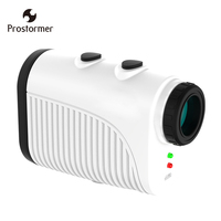 Prostormer USB Rechargeable Laser Rangefinders Distance Meter 500M Handheld Telescope Monocular Golf Hunting Range Finder