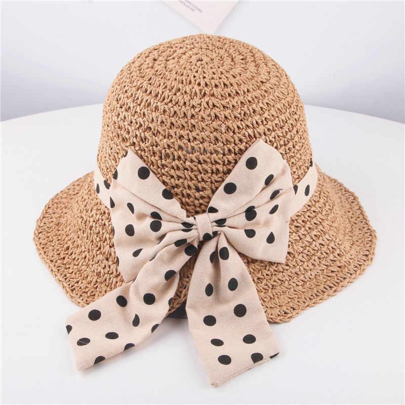 b5f909ecf 2108 New Summer Sun Hat Toddler Girls Kids Beach Hats Children ...