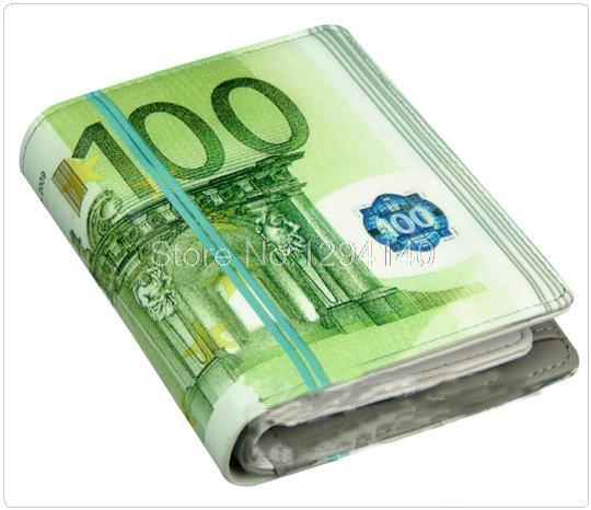 Portemonnee 5 Euro.Gratis Bezorging 5 Stks Partij 2015 Nieuwe 100 Euro Bill Geld