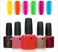 12 pçs/lote Boa Qualidade CND Shellac Soak Off Unhas de Gel Polonês e Salon Gel UV Total 89 Cores Da Moda