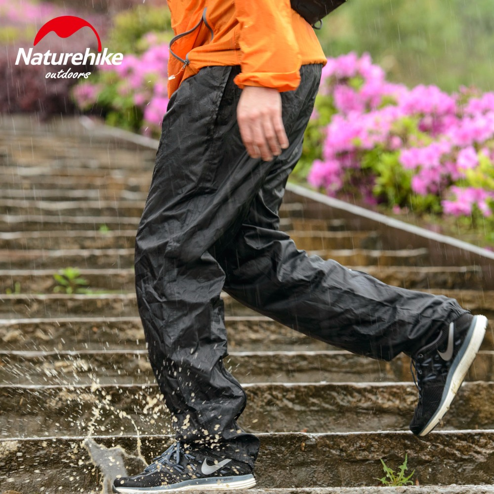 Naturehike Rain Pants Rainproof Outdoor Hiking Trekking Waterproof Breathable Men Women Zipper bike climbing Snow Rain Trousers ...