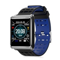 Fashion Silicone Sport Smart Watch Touch Screen Blue Tooth IP67 Waterproof Android Iphone SANGSUNG USB Charge Smart Device