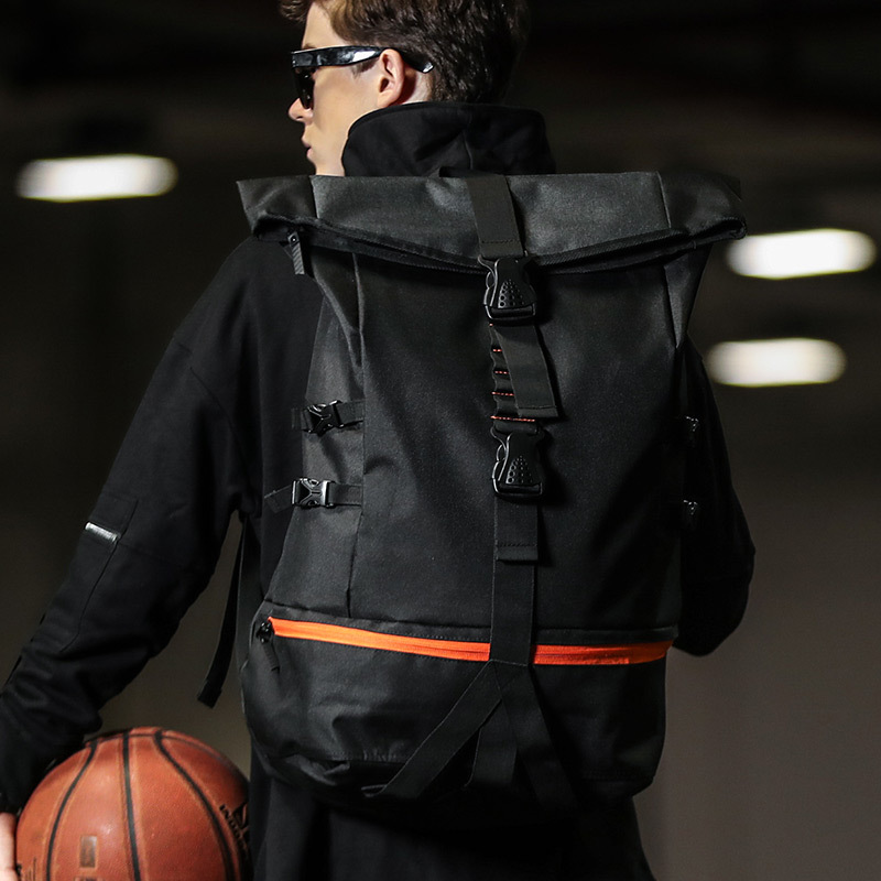 2019 nouveau grand sac à dos de basket-ball de grande capacité hommes multifonction porte sac à dos de voyage mâle Mochila décontracté sacs d'école étudiant
