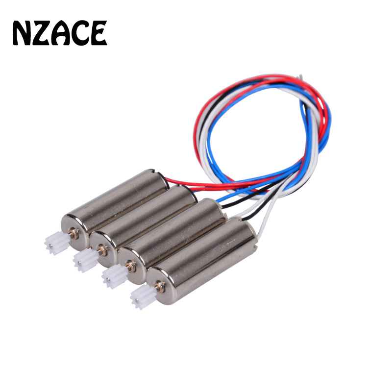 4PCS NZACE Motor Vehicle For SYMA X5C-1 X5C X5 Motor With Whell Gear Engine A B Spear Parts Accessories For RC Quadcopter 20 pcs syma x1 x5 x5c h5c rc quadcopter spare parts motor gear
