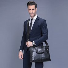 VORMOR 2019 Men Casual Briefcase Business Shoulder Bag Leather Messenger Bags Computer Laptop Handbag Bag Men's Travel Bags