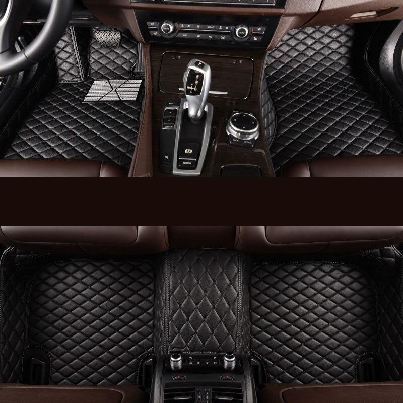 Kalaisike Personnalisé de voiture tapis de sol pour Nissan Tous Les Modèles Note Murano Mars Teana qashqai x-trail tiida voiture style accessoires de voiture