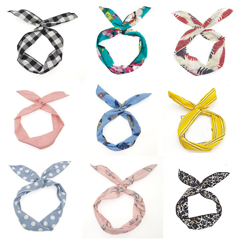 UNTAMED Multi Using Adjustable Headbands Women Hair Band Metal Wire Creative Girl Head Band For Face Washing Hair Accessories