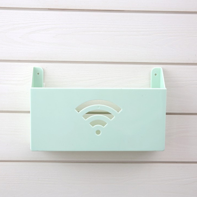 Wall Mounted Router Plastic Storage Box Rangement Wifi