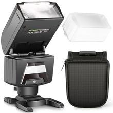 Neewer TTL GN40 HSS 1/8000s Slave Flash Speedlite LED Video Light for Sony A7 A7S/A7SII A7R/A7RII A7II NEX6 RX1 RX1R RX10 A6300