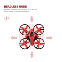 Mini RC Drone Quadcopter with Headless One Key Return Remote Control Drone NH010 Best Toys For child's Gift, little H20 tiny