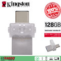 Kingston OTG Тип C usb 3.0 3.1 flash pen drive 16 ГБ 32 ГБ 64 ГБ 128 ГБ Смартфон Mac cle usb stick mini chiavetta сувениров memoria C