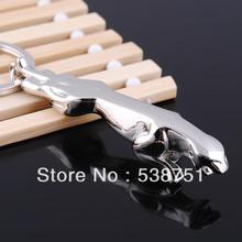 Gratis Verzending Door Fedex 100 Stks/partij 2014 Metalen Cheetah Sleutelhanger Dier Sleutelhanger Cheetah Sleutelhanger