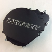 Aftermarket Free Shipping Motorcycle Parts Billet Engine Stator Cover For Kawasaki ZX6R 636 2003 2004 Left