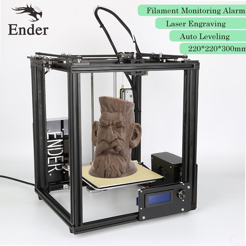 2017 Ender 4 3D printer Auto Leveling Laser Engraving Filament Monitoring Alarm Protection Reprap Prusa i3