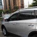 Para Toyota RAV4 RAV 4 2013 2014 2015 2016 Ventana Visor Vent Sombras Sun Rain Deflector Guardia Auto accesorios de Toldos refugios