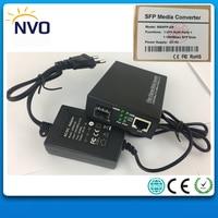 1000M 1 RJ45+1 Gigabit SFP,Unmanaged Fiber Optic Switch,Euro Charger,SFP Media converter+1.25G,850nm,550M,DDM,LC SFP Module