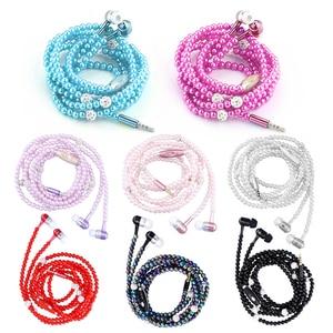 8 Colors 3.5mm In-ear Pearl Ne