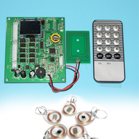 16 roads control 13.56MHZ Layered Elevator Controller Panel avoid Software Security for 16 floors Lift Controller Panel board