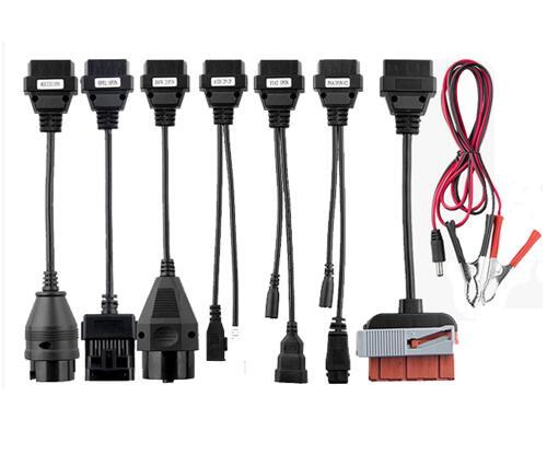 8 pcs par ensemble de voiture câble pour VD TCS cdp pro plus câbles de voiture pour multidiag pro et WOW SNOOPER pour delphis pour autocome