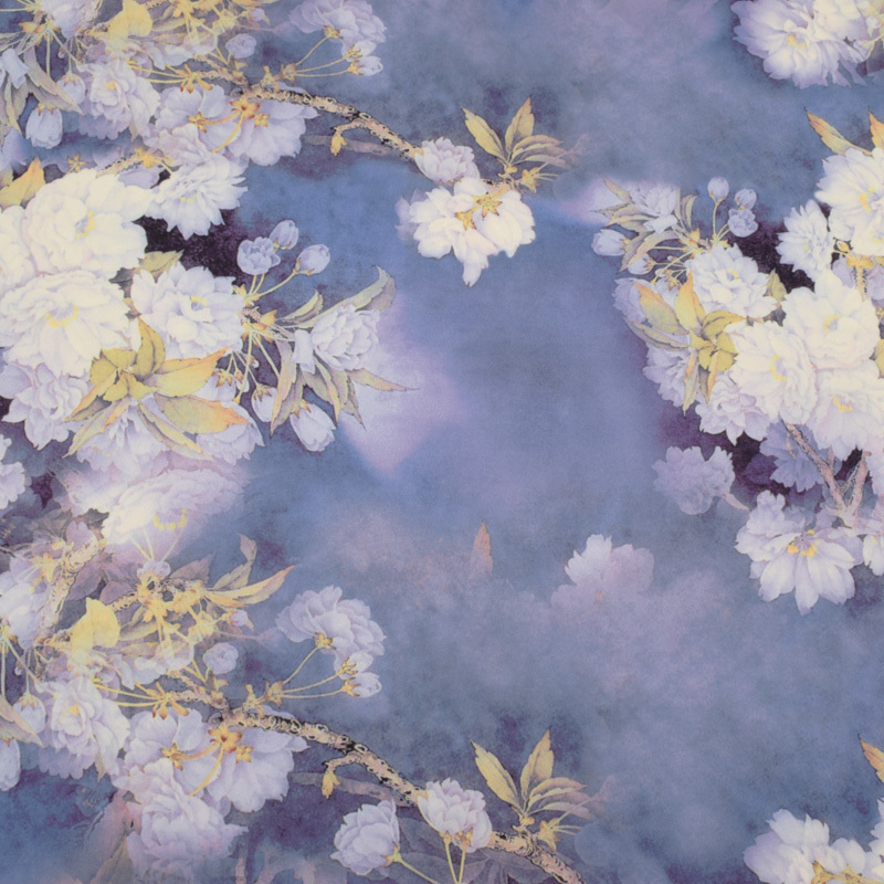 Moda imitação gambered cantão gaze impresso tule tecido para vestido tissu au metro telas por metros tecido diy pano tecido