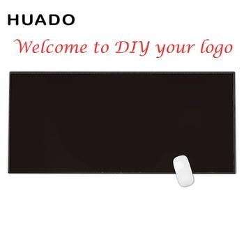 All black mouse pad gamer 900x400 custom logo rubber mouse mat rubber mouse pad mat black