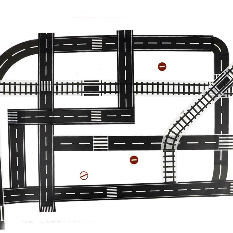 Feichao DIY креативная шоссе железная дорога клейкая лента наклейка этикетка ремесло маскирующая лента