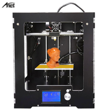 High Printing Quality Anet A3S 3D Printer Desktop Full Assembled 3D Printer Working Size 150*150*150mm Metal Frame 0.4MM Nozzel anet a3 full assembled high precision 3d printer aluminum arcylic frame 3d printer kit industry three dimensional diy printing