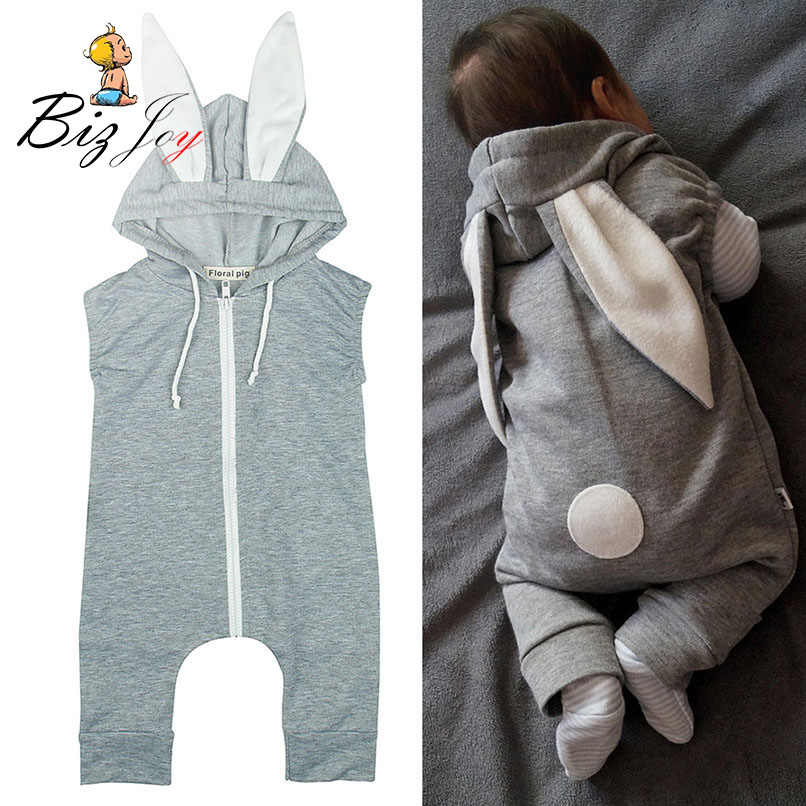 2bedcdf80 Detail Feedback Questions about Cute Rabbit Ear Hooded Baby Zipper ...