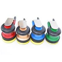 OEM Mini Pneumatic Tools Air Tools Palm Random Orbital Sander Polisher 3 Inch 4 Inch Circle Round Pad 75mm 100mm new color