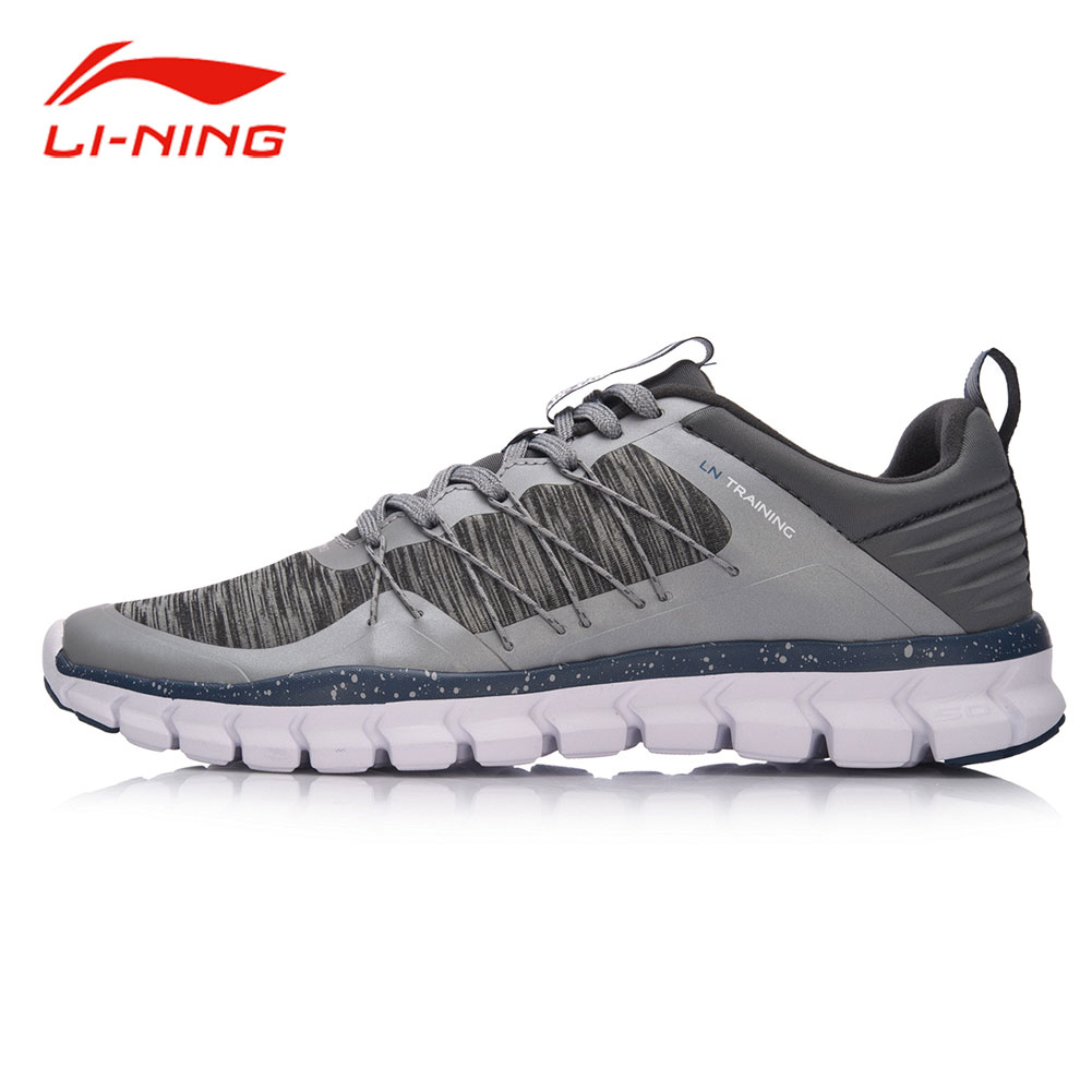 Li-Ning Men 24H Light Flexible Training Shoes Drawstring Support Breathable Sneakers LiNing Comfort Fitness Sports Shoes AFHM027 li ning brand men basketball shoes sonicv series professional camouflage sneakers support lining breathable sports shoes abam019