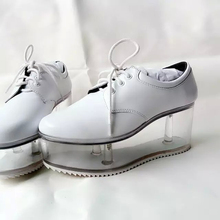 2016 new arrival personality cute shoes transparent bottom can be put ornaments girls shoes thick bottom platform shoes women