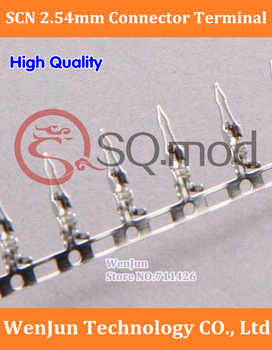 Free Shipping SCN 2.54 Terminal /plug /connectors , 2000PCS/LOT SCN Spacing 2.54mm Connector Terminal Metal  Pin