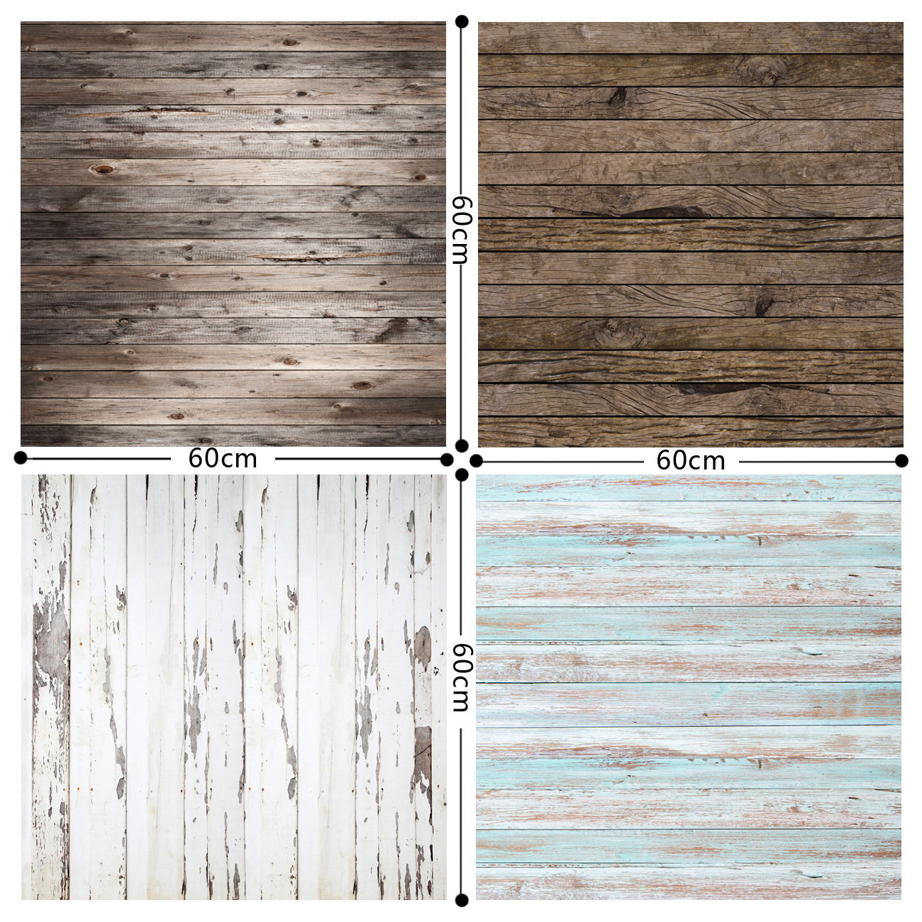 HUAYI Small Size 0 6x0 6m Wooden Floor backdrop Art Fabric photography backdrops Photo Studio Prop