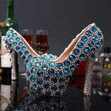 euro women high heel red bottom platform night club rhinestones crytal pumps handmade bride wedding shoes glitter dress stiletto