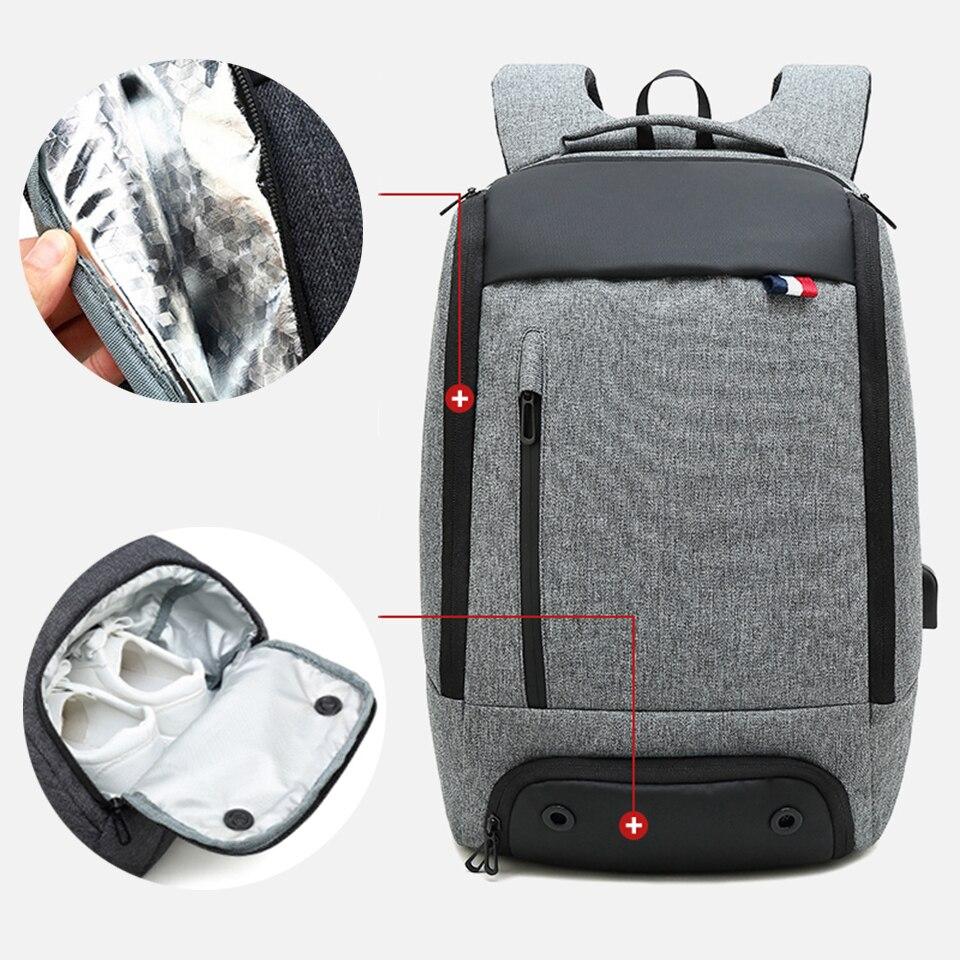 Travel Backpacks Mens Women Bags Packs 15.6 Inch Laptop Backpack Keep Cool Warm Large Capacity Outdoor Men's Business Smart Bag