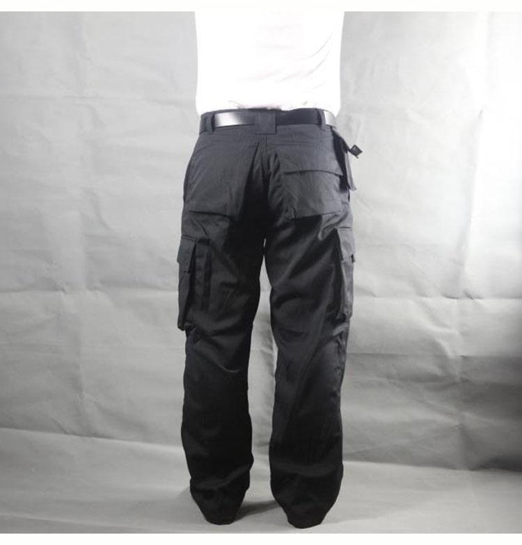 Working pants men multi pockets work cargo pants large size loose style men\'s labor trousers wear-resistance welding repairman (19)