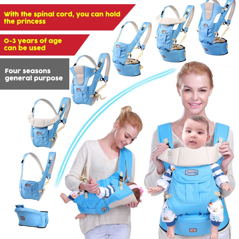 Baby Sling Wrap Breathable Front Facing Baby Carrier Infant Comfortable Sling Backpack Pouch Wrap Baby Carrier Infant Baby Carry 2016 four position 360 baby carrier multifunction breathable infant carrier backpack kid carriage toddler sling wrap suspenders