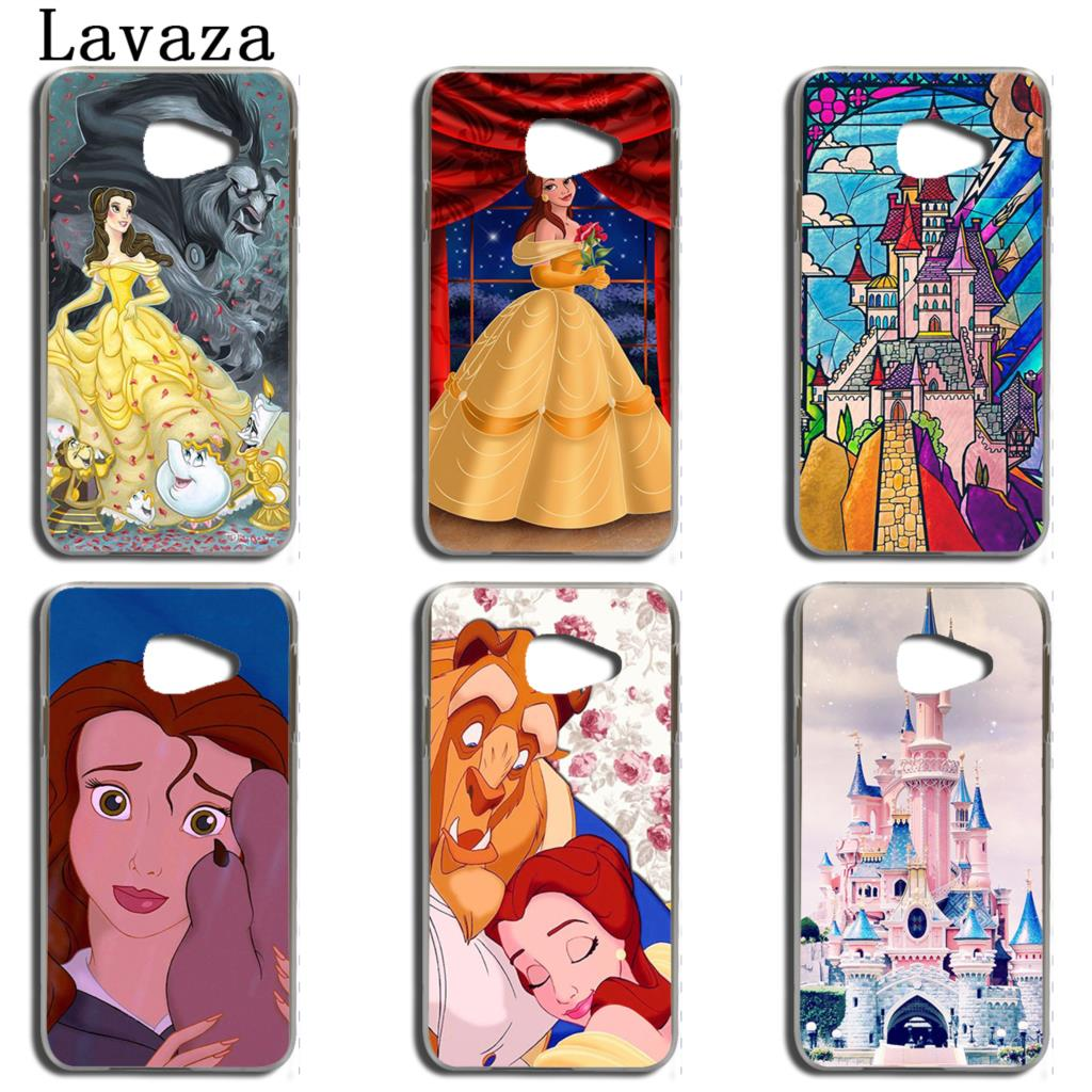 Lavaza Beauty and the Beast cute Phone Case for Samsung Galaxy A3 A7 A8 A5 2015 2016 2017 2018 Note 8 5 4 3 Grand Prime 2 Cover