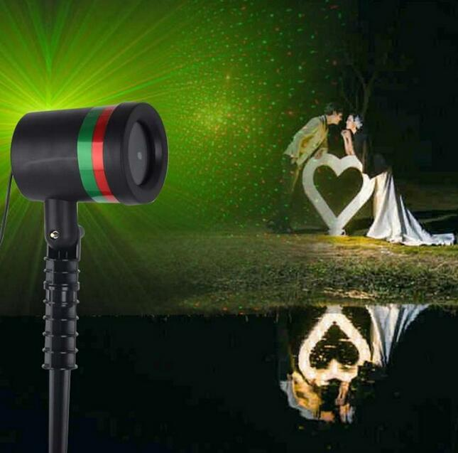 Fad Fantastic Star Light Garden Shower Laser Light Show UK PLUG Xmas Decoration