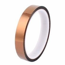 UXCELL Hot Sale 1.5CM Width 30M Long DIY Tape High Temperature Heat Resistance Polyimide Brown Quantity
