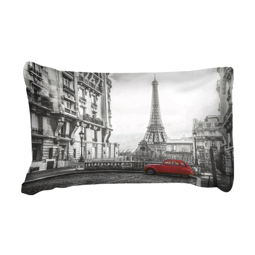 Image 2 - LOVINSUNSHINE Bed Linen Set Queen Comforter Sets City View 3d Digital Printing Parrure De Lit AB#65Bedding Sets   -