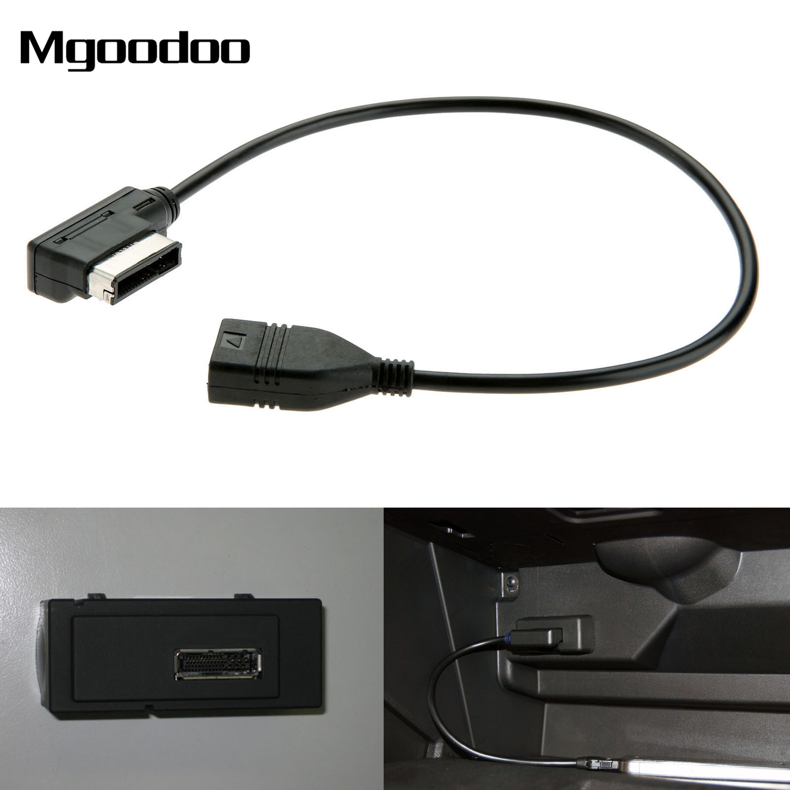 2017 new media in ami mmi mdi aux to car music interface usb adapter cable for audi a3 a4 a5 a6. Black Bedroom Furniture Sets. Home Design Ideas